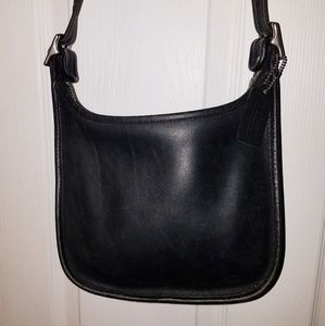 COACH Vintage Janice black crossbody